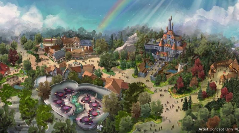 Tokyo Disneyland Expansion - Beauty and the Beast