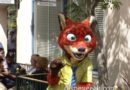 Nick Wilde from Zootopia meeting in the Bay Area at Disney California Adventure