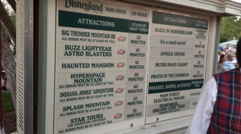 #Disneyland waits as of 7:30pm