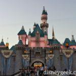 #Disneyland Sleeping Beauty Castle this evening