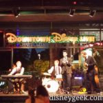 Five Got Rhythm performing in Downtown Disney tonight