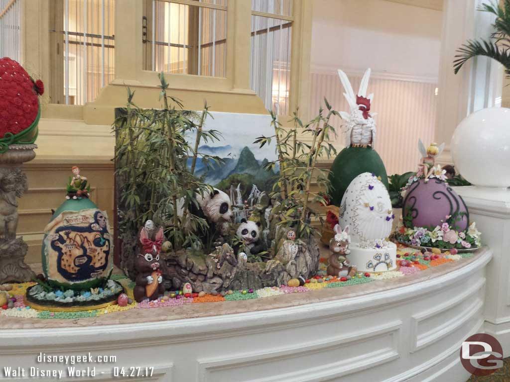 Disneynature Born in China display