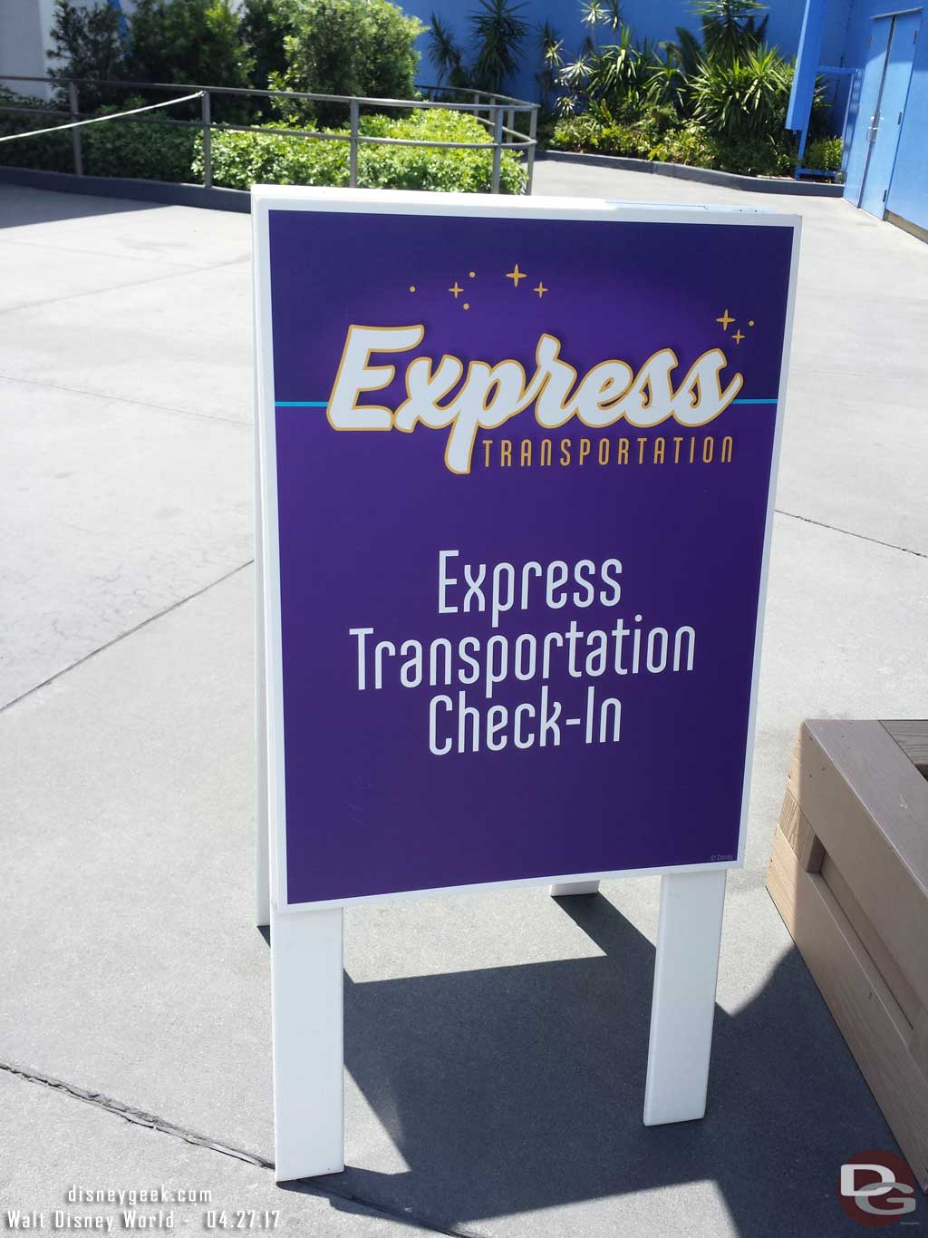 Used the Express Transportation Bus to get from the Magic Kingdom to Epcot.