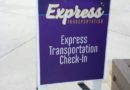 Giving the Express Transportation a try this trip – only 1 other family on bus to Epcot from MK