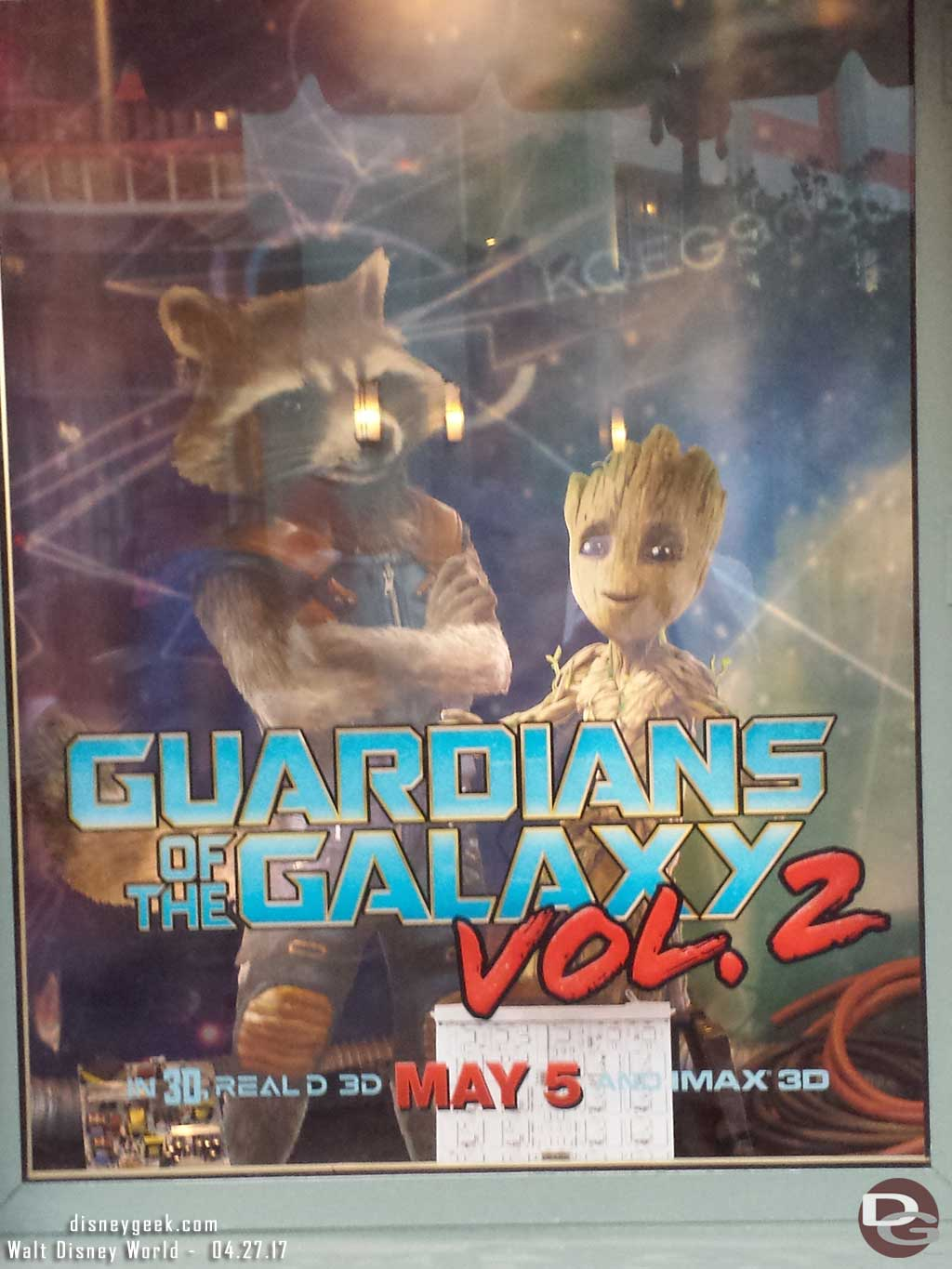Disney & Co - Guardians of the Galaxy Vol. 2 Window