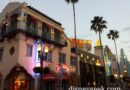 Hollywood Blvd as the sun is setting #WDW