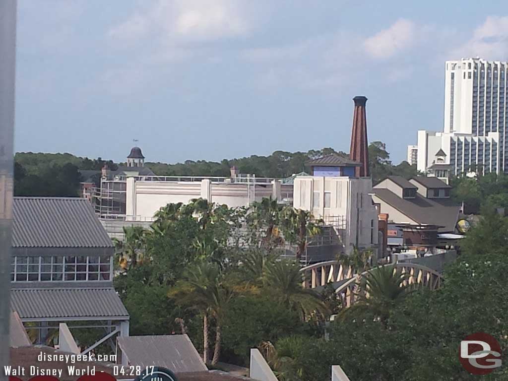 Disney Springs from the Orange Parking Garage