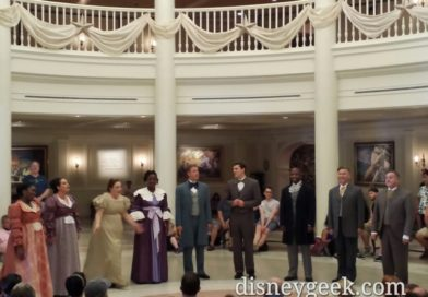 Voices of Liberty at the American Adventure – Epcot