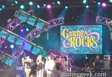 Epcot Garden Rocks Concert today – Expose'