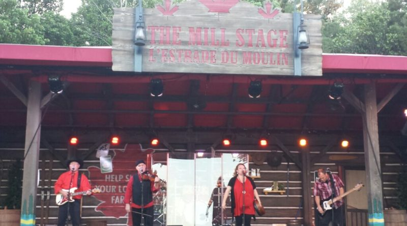 Alberta Bound performing in Canada at Epcot