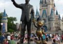 Walt & Mickey Partners Statue and Cinderella Castle – Magic Kingdom
