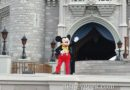 Mickey Mouse welcoming everyone to the Magic Kingdom #WDW