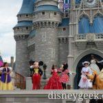 Let the Magic Begin – Magic Kingdom opening #WDW