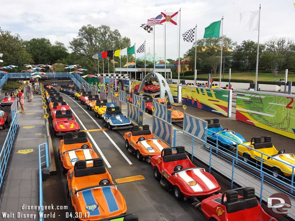 Walt Disney Disney World - Tomorrowland Speedway
