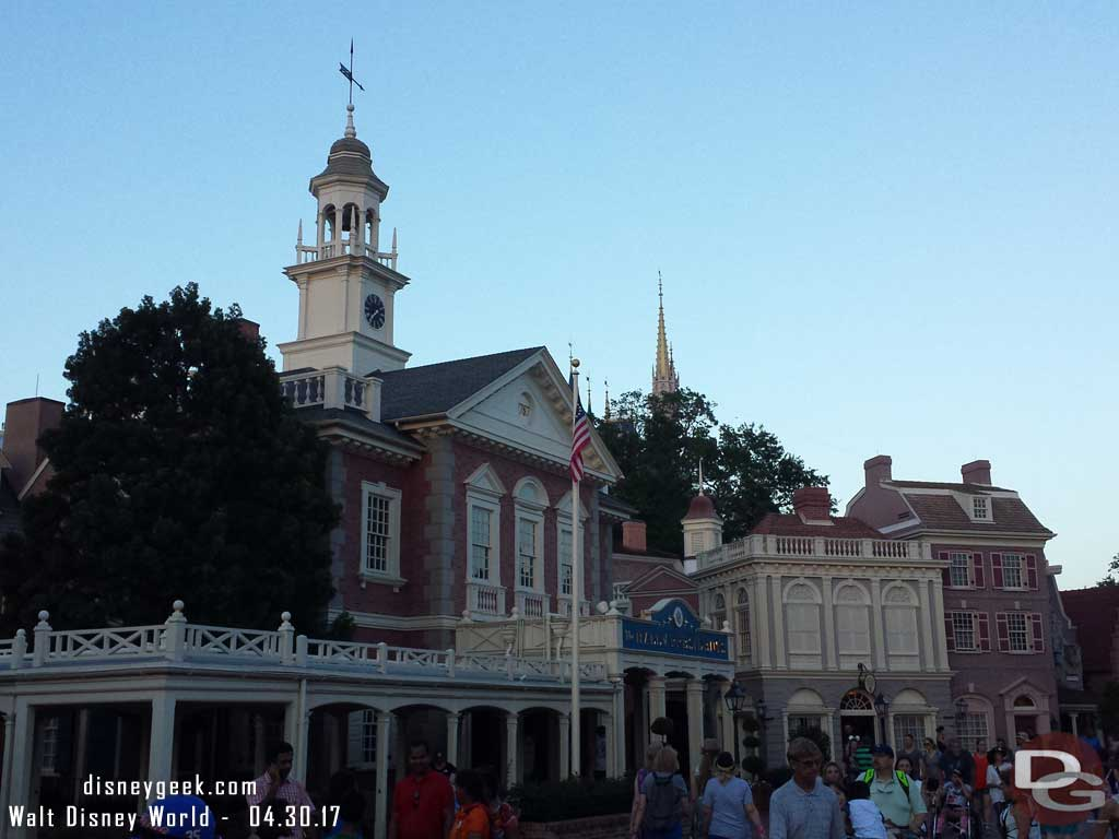 Liberety Square at the Magic Kingdom