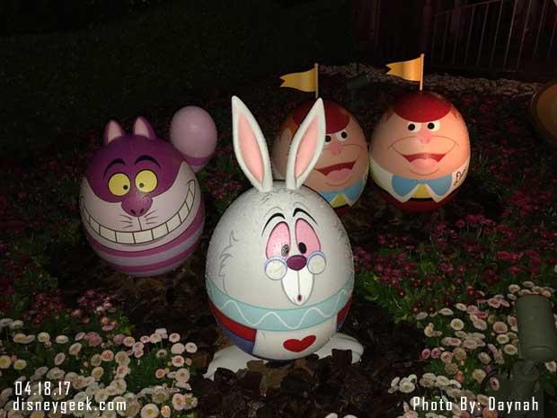 Tokyo Disneyland - Alice in Wonderland Eggs