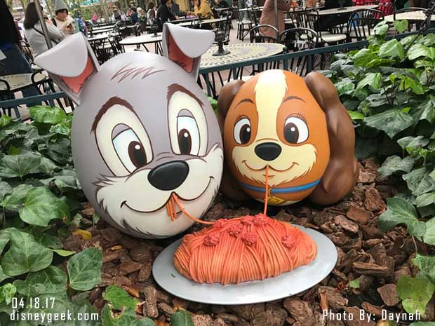 Lady & the Tramp Eggs at Tokyo Disneyland