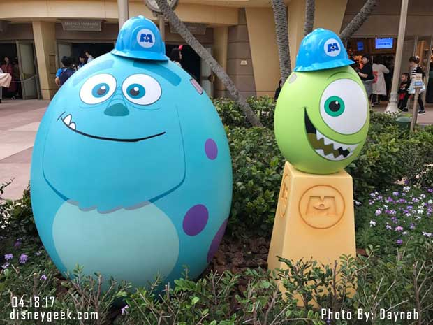 Mike & Sully Eggs in Tomorrowland at Tokyo Disneyland