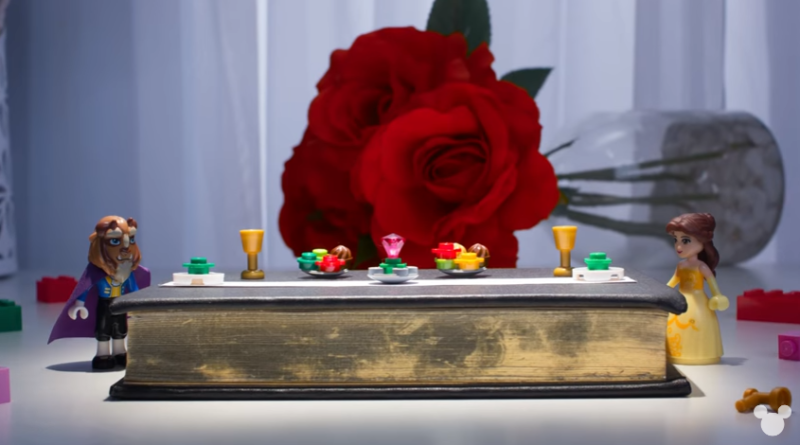 Beauty and the Beast As Told By Lego