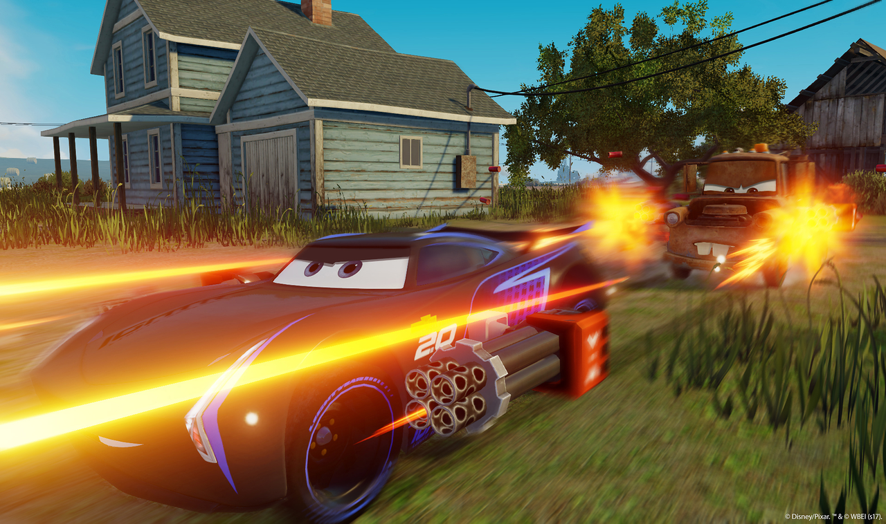 Cars 3 Driven to Win Game