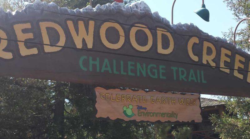 Earthweek Redwood Creek Challenge Trail activities