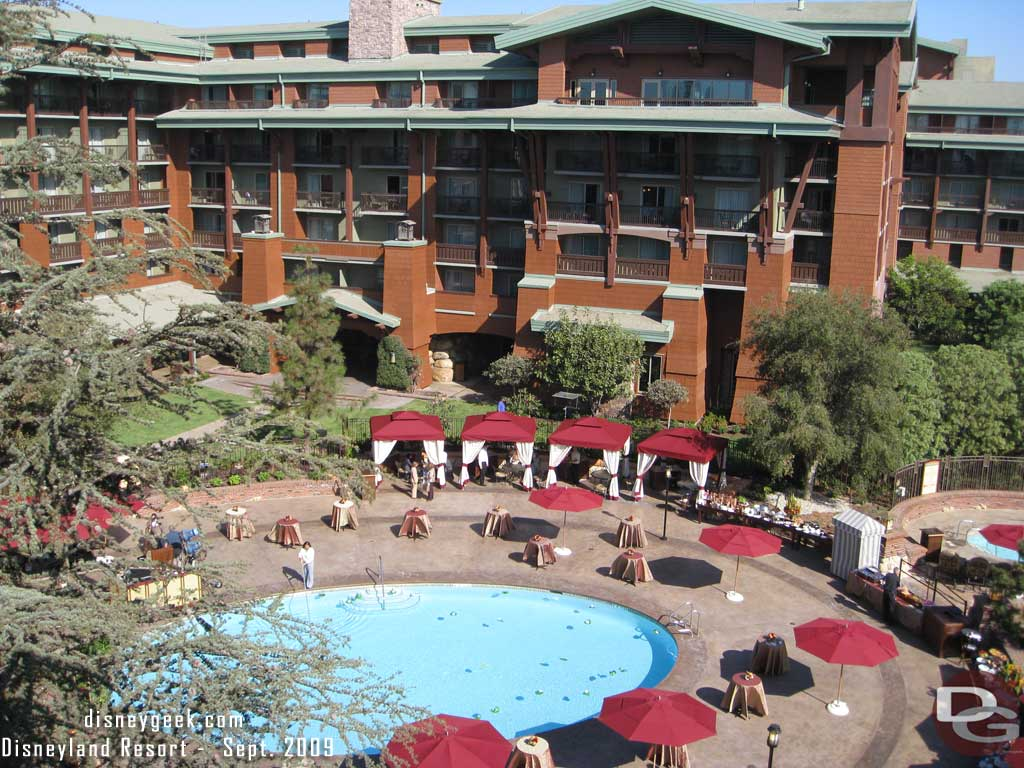 Grand Californian Pool