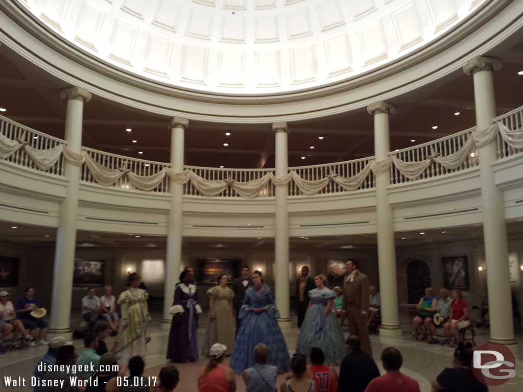 Voices of Liberty in the American Adventure