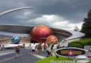 Skies darkening over Mission Space at Epcot (3:30pm)