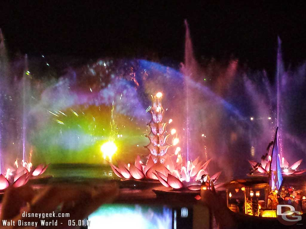 Rivers of Light finale