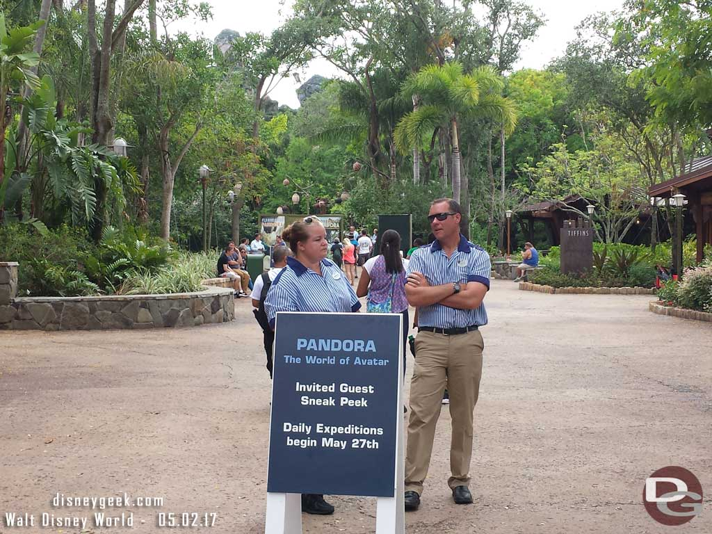 Cast Member Previews for Pandora going on again.