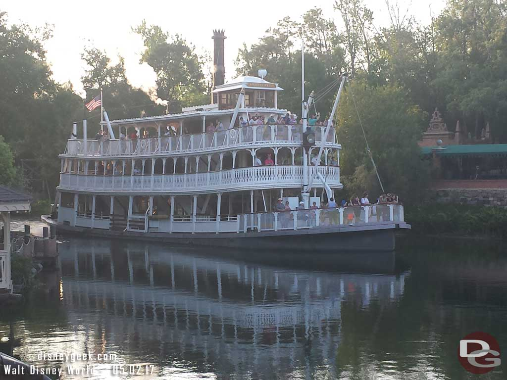 Liberty Belle on the Rivers of America