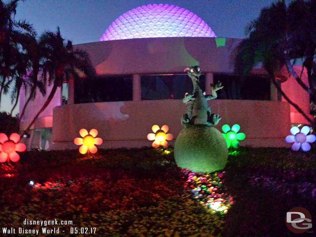 Figment Topiary in Future World