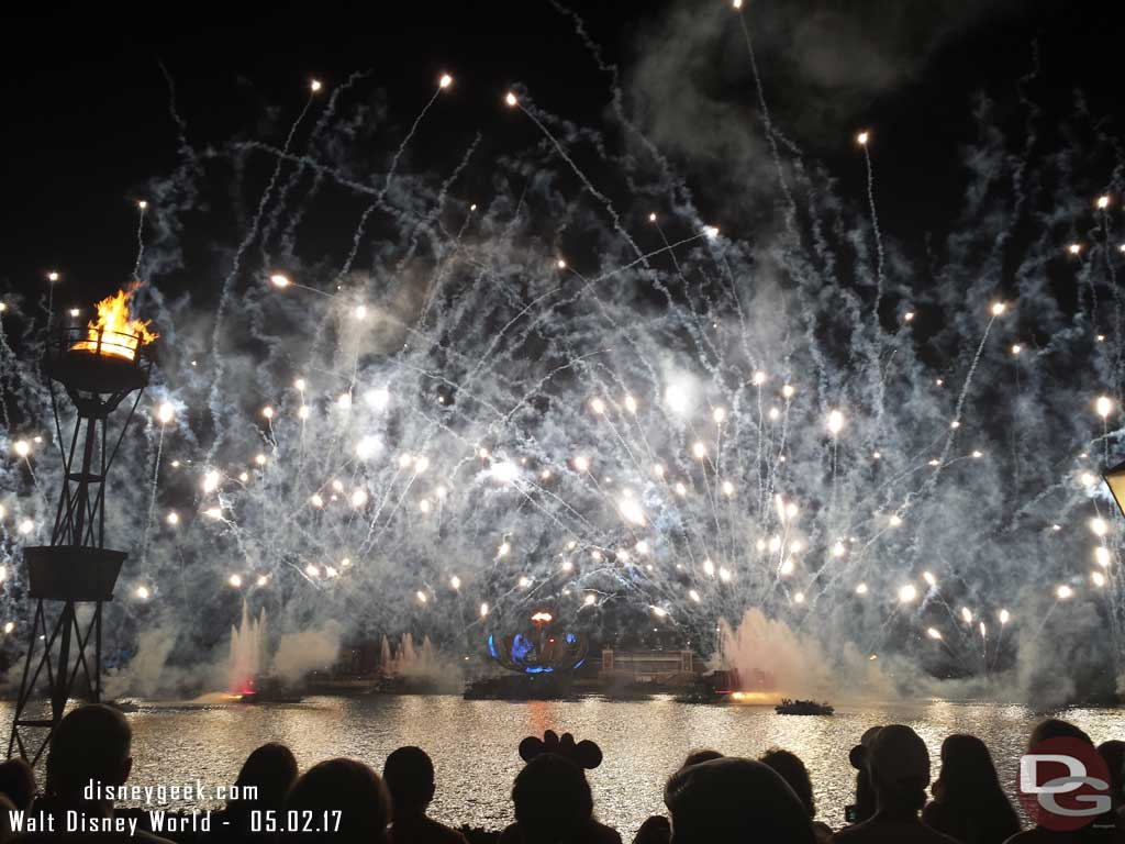 Epcot - Illuminations Finale