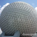 WDW Day 8 – Final park of this trip – Epcot