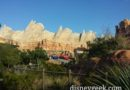 Passing through Ornament Valley #CarsLand