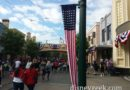 Buena Vista Street is Red, White and Blue for the summer