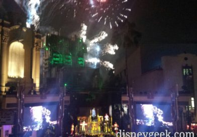 Guardians of the Galaxy – Mission: Breakout! Opening Celebration Fireworks #HeroUp