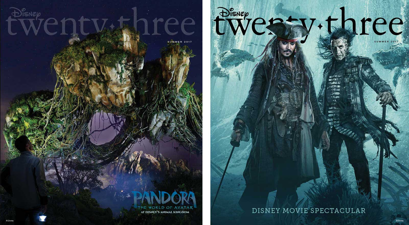 D23-Summer 2017 Covers - Pandora & Pirates