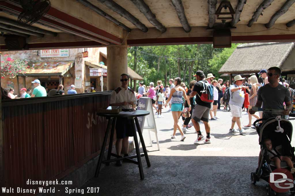 Express Transportation Check In at Disney's Animal Kingdom