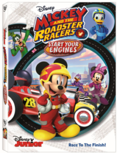 Mickey and the Roadracers Start Your Engines DVD