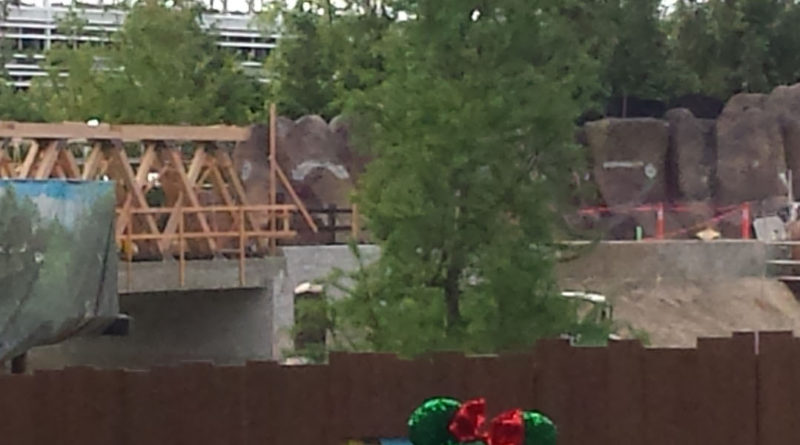 Star Wars Land - Rivers of America Construction