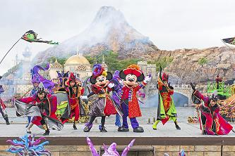 """The Villains World"" at Tokyo DisneySea (Photo from 2016)"