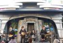 #TheBeatles have returned to #Disneyland #TomorrowlandTerrace (Hard Days Night performing)