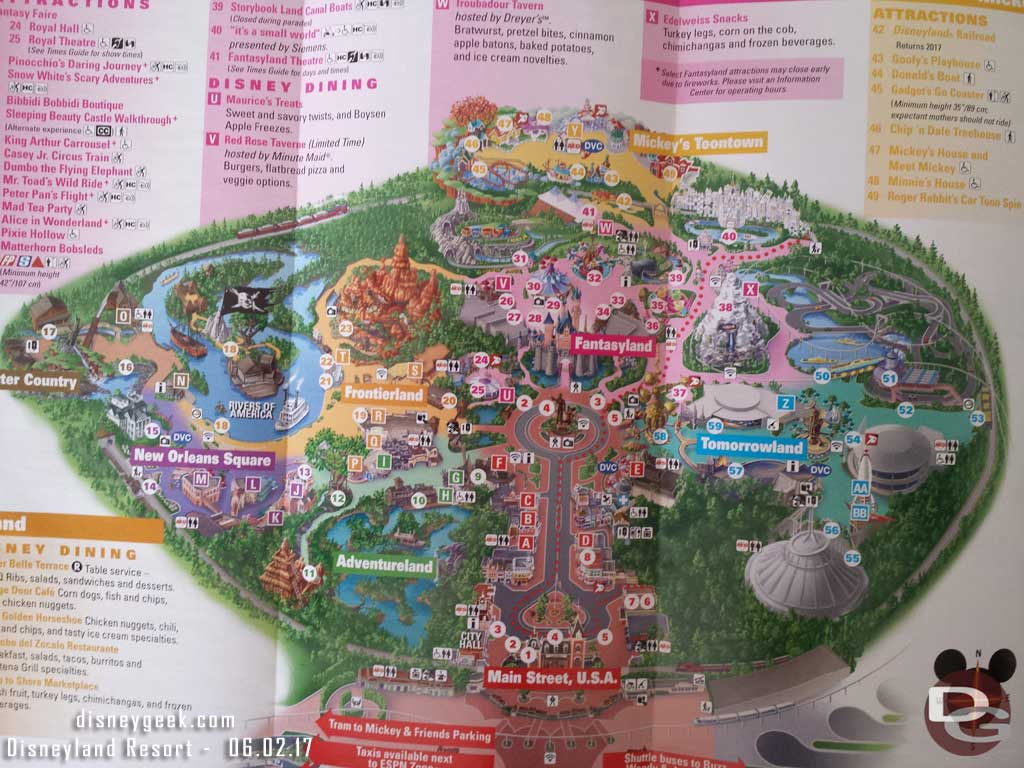 Disneyland Locations World Map.Disneyland Resort Free Wi Fi Now Available In Multiple Locations In