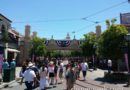 Buena Vista Street this afternoon