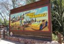 #Cars3 #CruzRamirez is now featured on the #CarsLand sign