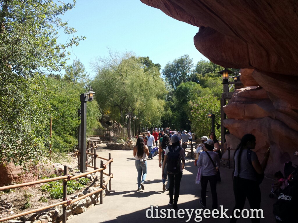Big Thunder Trail Reopened Last Week (several pictures