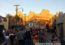 FastPass Return for Radiator Springs Racers backed up to Cross Street #CarsLand