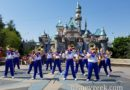 2017 #Disneyland All-American College Band performing in front of Sleeping Beauty Castle