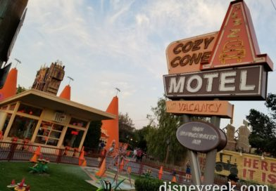 No car at the Cozy Cone right now #CarsLand